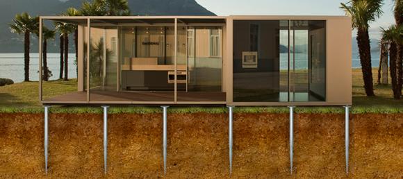 b timent construction modulaire krinner krinner. Black Bedroom Furniture Sets. Home Design Ideas